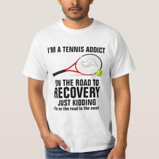 Soy un adicto al tenis playera
