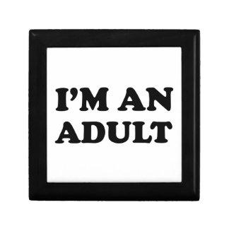 Soy un adulto caja de regalo