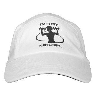 Soy un ajuste natural gorra de alto rendimiento