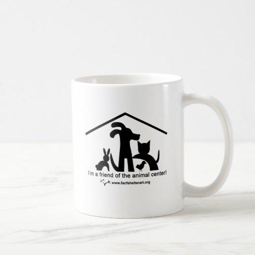 Soy un amigo del centro animal taza de café
