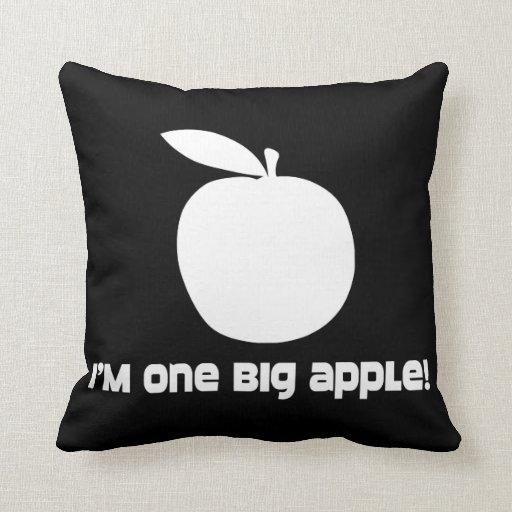 Soy un Apple grande Almohadas