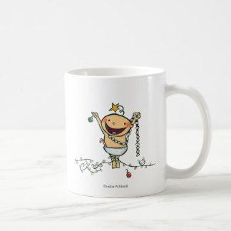 ¡Soy un árbol de navidad! Taza De Café