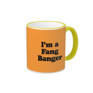Soy un Banger del colmillo Taza De Café