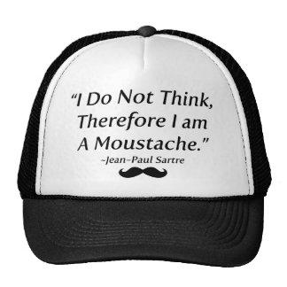 Soy un bigote gorras de camionero