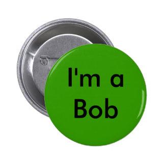 Soy un Bob Pin Redondo 5 Cm