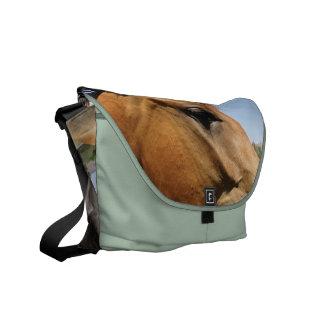 Soy un bolso del caballo de la vaquera bolsas messenger