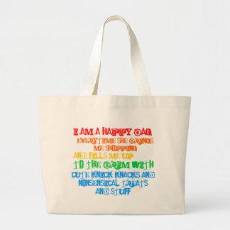 Soy un bolso feliz bolsa de mano