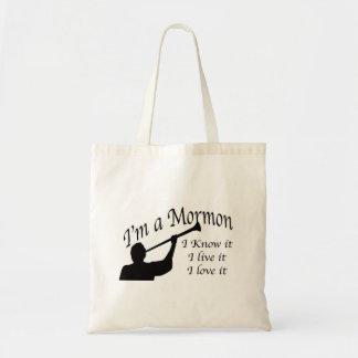 Soy un bolso mormón bolsa