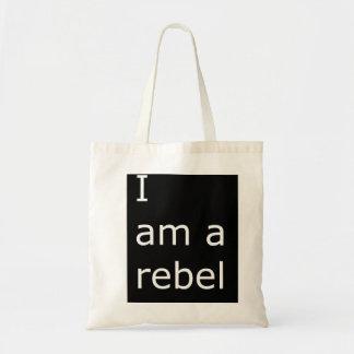 Soy un bolso rebelde bolsa tela barata