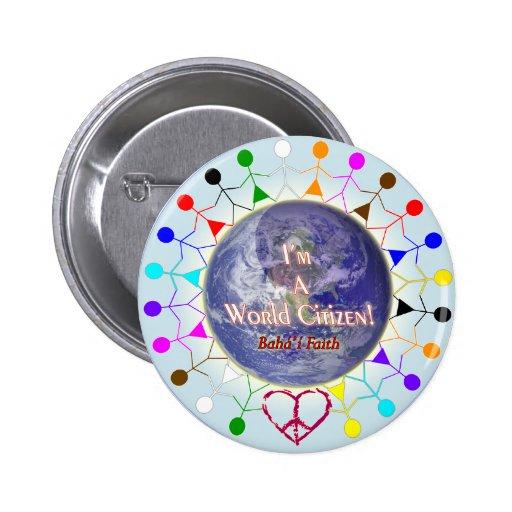 Soy un botón del ciudadano del mundo