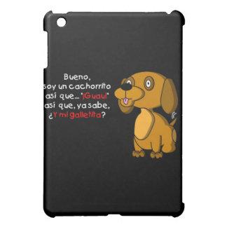 Soy un cachorrito iPad mini covers