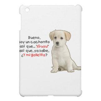 Soy un cachorrito iPad mini cover