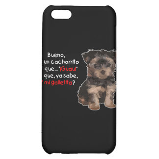 Soy un cachorrito cover for iPhone 5C