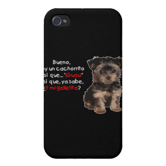 Soy un cachorrito cases for iPhone 4
