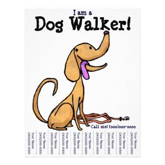 ¡Soy un caminante del perro! Aviador Tarjetones