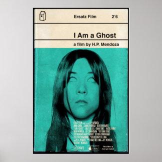Soy un cartel de película del fantasma 24x36 póster