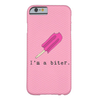 Soy un caso de Iphone del Popsicle del rosa del Funda Barely There iPhone 6