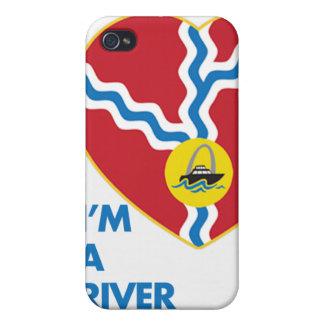 Soy un caso del iPhone 4 del amante del río iPhone 4/4S Carcasa