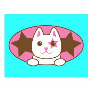 ¡Soy un CAT de la ESTRELLA tan lindo! Tarjetas Postales