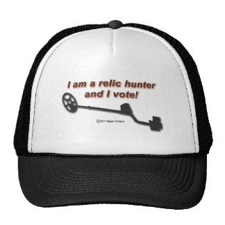 Soy un cazador de la reliquia y voto gorros bordados