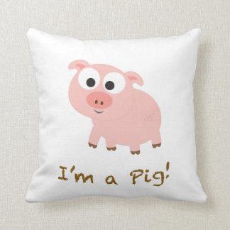 ¡Soy un cerdo! Cojin
