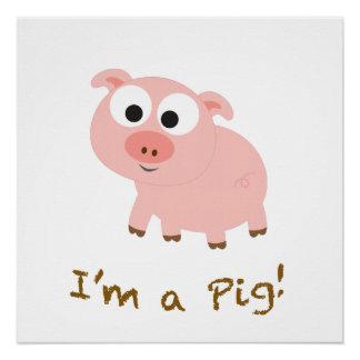 Soy un cerdo perfect poster
