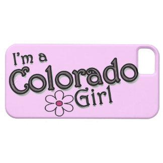 Soy un chica de Colorado, flor, cubierta rosada Funda Para iPhone SE/5/5s