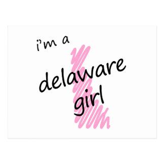 Soy un chica de Delaware Postal