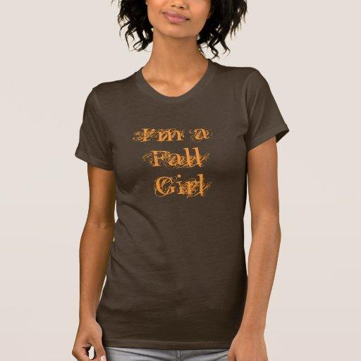 Soy un chica de la caída.  Otoño Camiseta