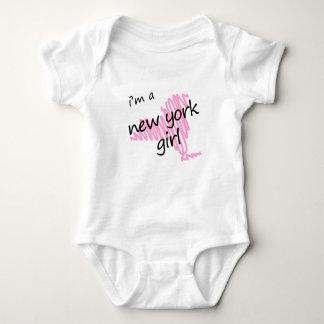 Soy un chica de Nueva York Body Para Bebé