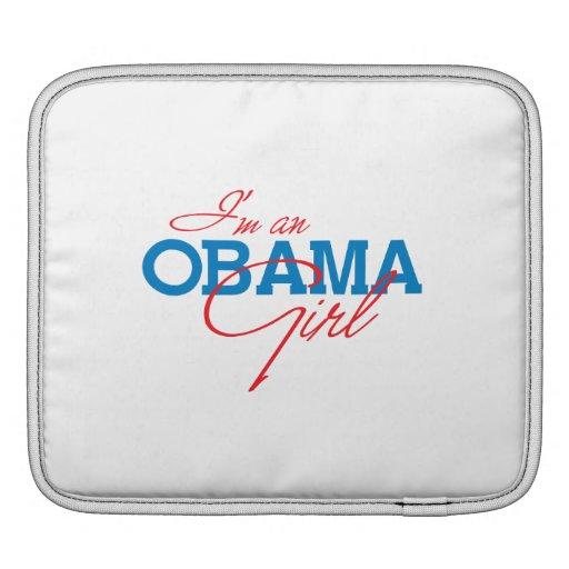 Soy un chica de Obama Fundas Para iPads