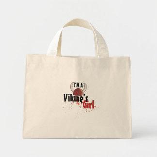 Soy un chica de Viking - bolso Bolsa Tela Pequeña