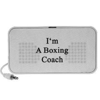 Soy un coche del boxeo iPhone altavoces