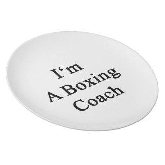 Soy un coche del boxeo platos para fiestas