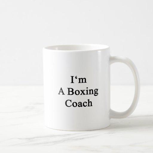 Soy un coche del boxeo tazas