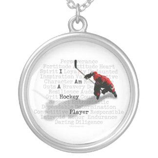 Soy un collar del jugador de hockey