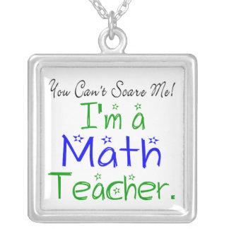 Soy un collar del profesor de matemáticas