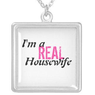 Soy un collar real de la plata esterlina del ama
