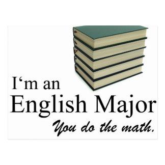 Soy un comandante inglés que usted hace la tarjeta postal