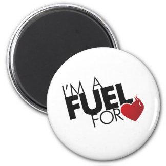 Soy un combustible para el amor imán
