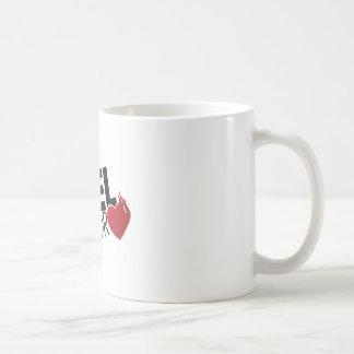 Soy un combustible para el amor tazas de café