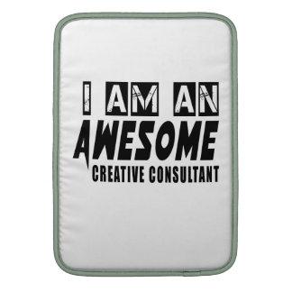Soy un CONSULTOR CREATIVO impresionante Fundas Macbook Air