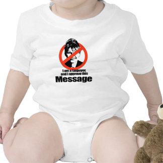 Soy un contribuyente y apruebo este mensaje - trajes de bebé