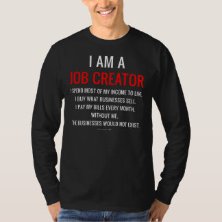 Soy un creador del trabajo playera