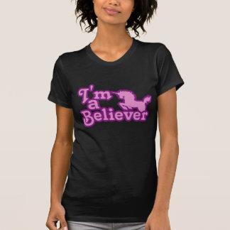 Soy un creyente en unicornios playera