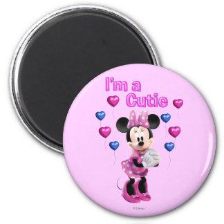 Soy un Cutie Minnie Mouse Imanes Para Frigoríficos