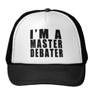 Soy un Debater principal Gorras De Camionero