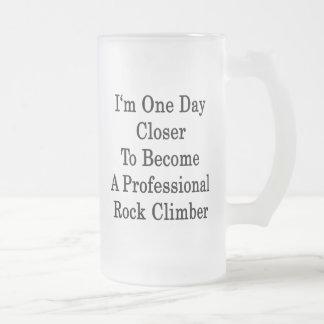 Soy un día más cercano a hago una roca profesional taza cristal mate