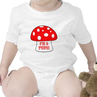 Soy un diseño de los hongos camiseta