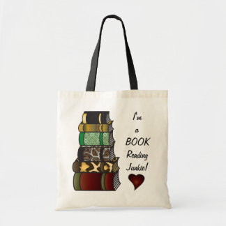 Soy un drogadicto de la lectura del libro bolsa tela barata